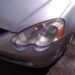Cleaning foggy headlight lenses