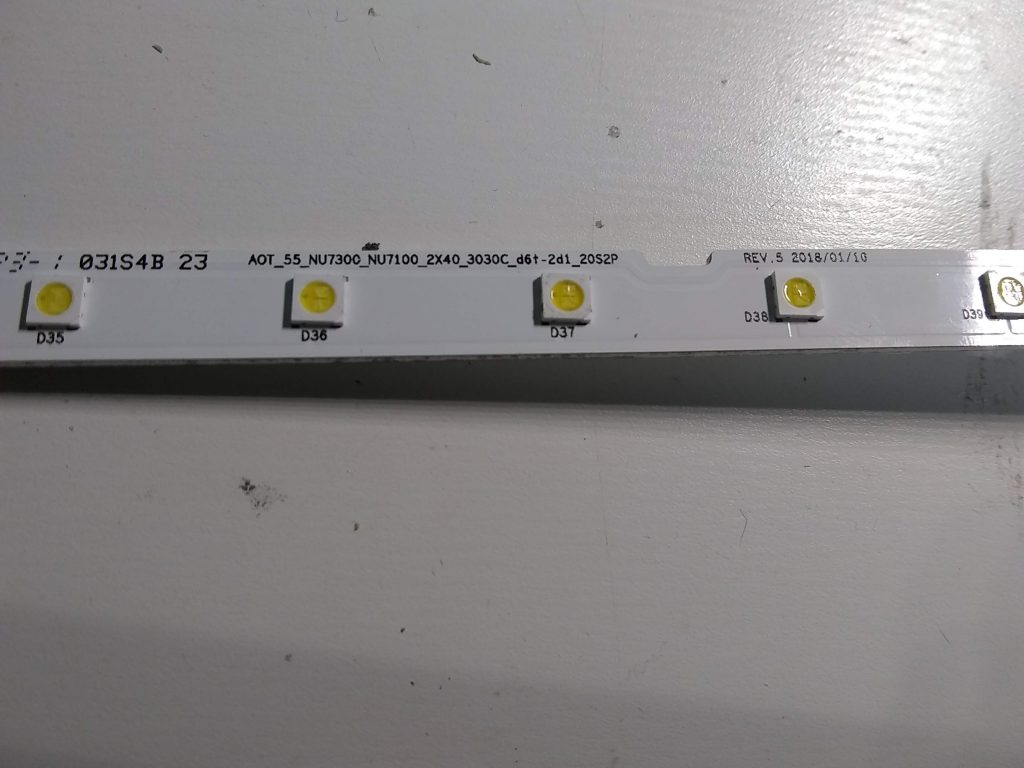 Samsung UN55NU6900F LED Backlight Replacement